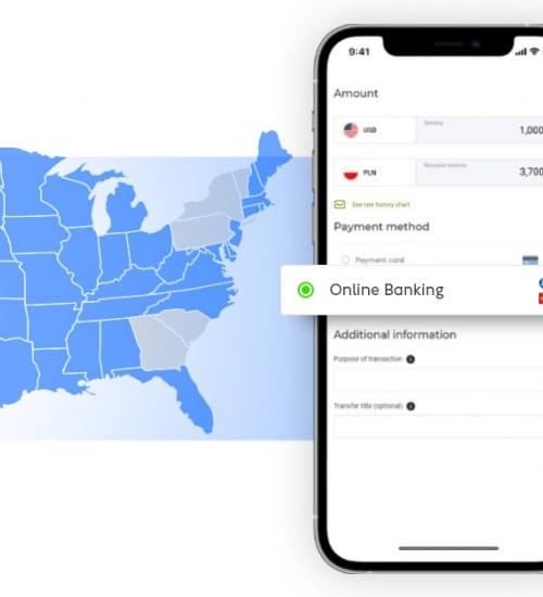 Cinkciarz.pl oferuje jedną z najpopularniejszych metod płatności w USA